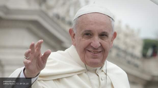 Папа Римский открыто поддержал гомосексуальные браки