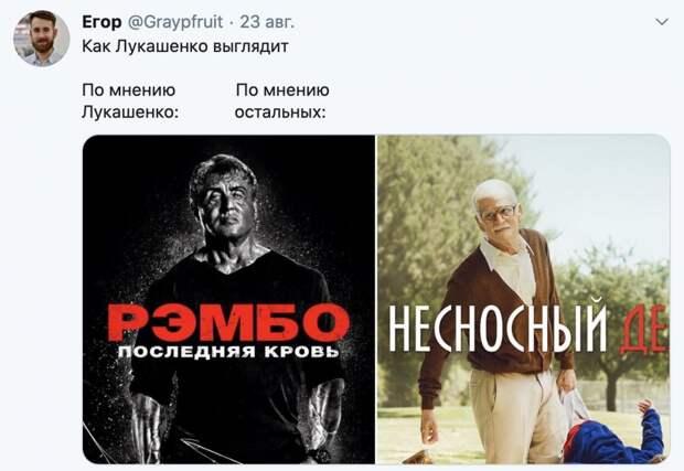 «Улетел, но обещал вернуться»: 7 лучших мемов с Лукашенко и его сыном Колей