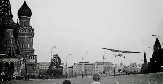 Путешествие Руста из Хельсинки в Москву