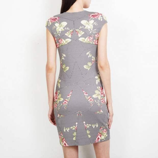 платье дизайнерский пэчворк