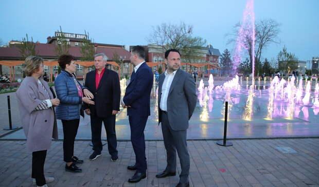 ВРостове-на-Дону восстановили фонтан после восьмилетнего простоя