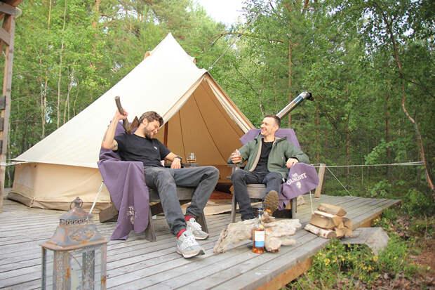 Путешествие к месту силы The Glenlivet в самом тихом уголке Карелии