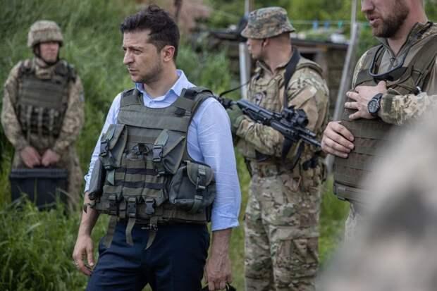 Зеленский прибыл на линию фронта на Донбассе (+ВИДЕО, ФОТО)