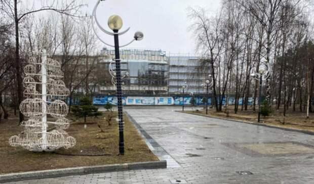 В Хабаровске благоустроят шесть общественных территорий