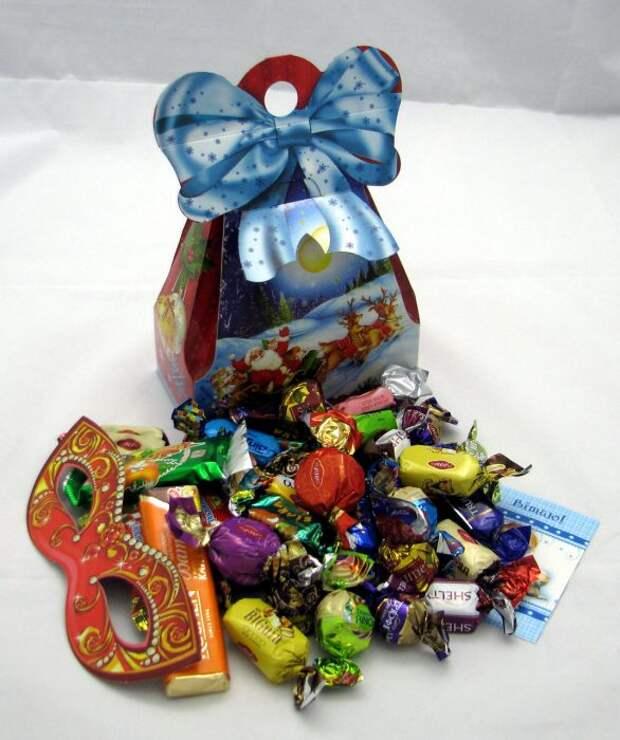 Кому и для чего дарить сладости на Новый год