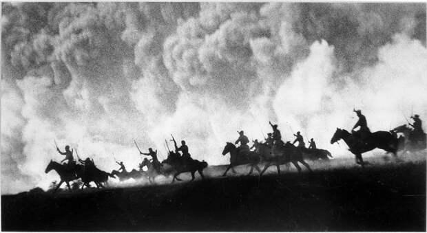 Крупнейшая конная лава в истории Великой Отечественной - бой у станицы Кущёвской в 1942 году атака, война, история, казаки, ссср, факты