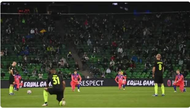 «Русские доказали наличие достоинства»: британцы о нежелании футболистов РФ вставать на колени