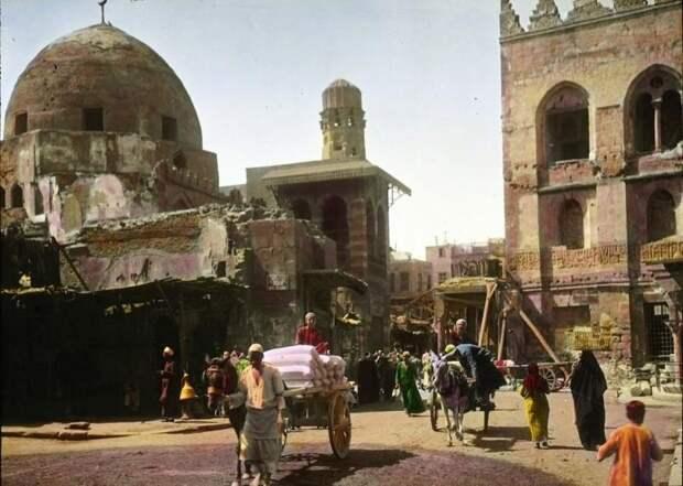 Как выглядел Каир в 1910году