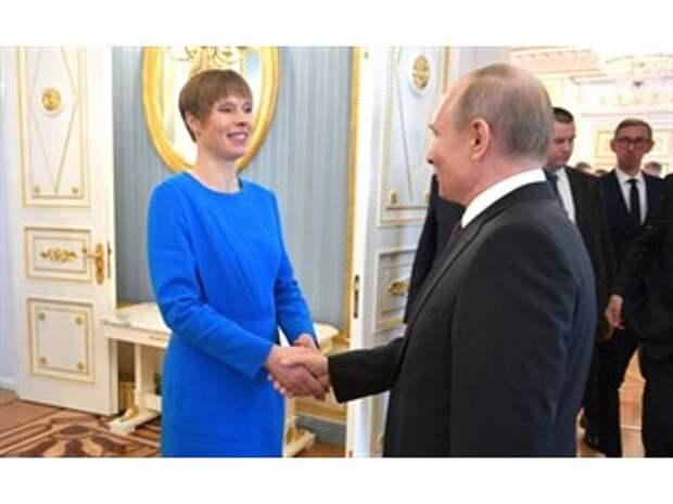 Эстонский президент хочет за счёт России поднять свой авторитет в мире