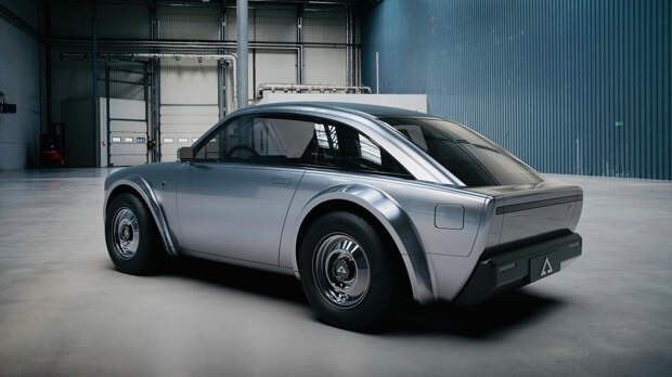 Самый симпатичный электромобиль Alpha Ace Coupe