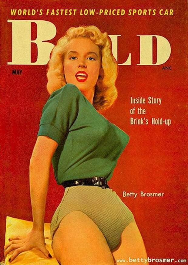Бетти Бросмер— обладательница самой шикарной фигуры 50-х годов