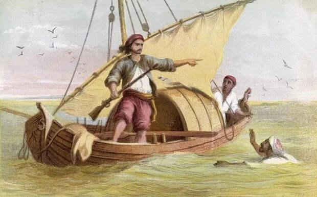 Как Робинзон продал друга в рабство Робинзон Крузо, Даниель Дефо, Яндекс Дзен, Длиннопост