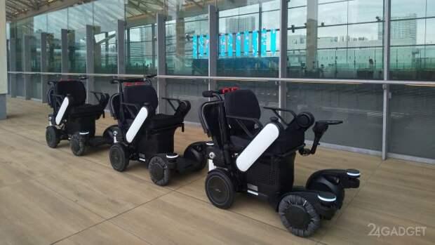 Компания Panasonic испытывает беспилотные кресла для перевозки людей