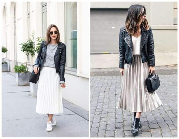 Какую верхнюю одежду носить с юбкой осенью 2020: фото лучших сочетаний