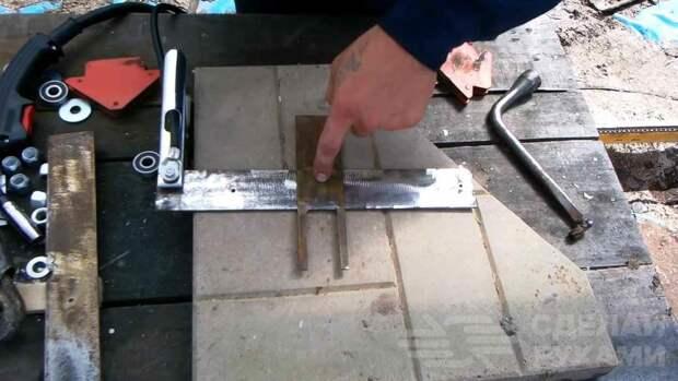 Станок для проката профтрубы (на базе шуруповерта)