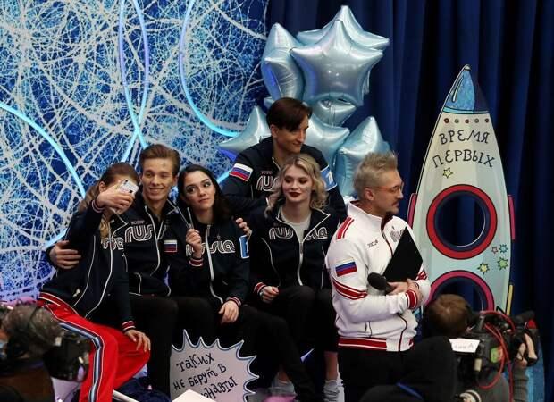 Медведева: «Название команды, тематику и образы придумала я. Немножечко этим горжусь»