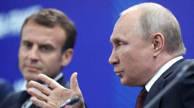 Путин «потеснил» Макрона на международном саммите по климату