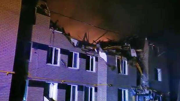 Открытое горение после взрыва газа в доме в Нижегородской области ликвидировано