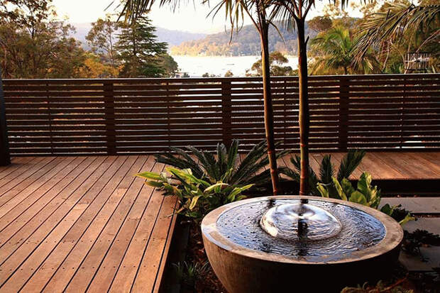 Фонтаны для дачи: как сделать из загородного дома оазис уюта и комфорта (90 фото)