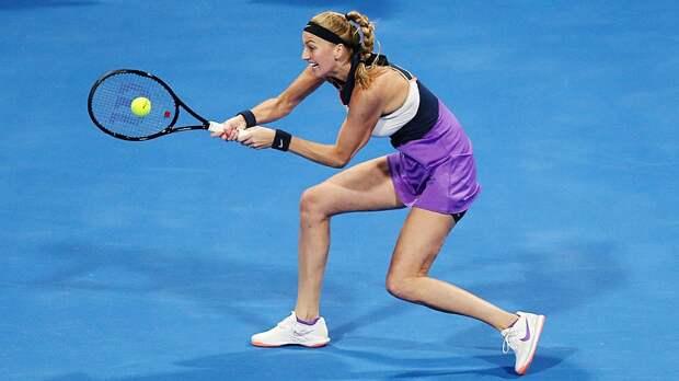 Квитова стартовала на турнире в Мадриде с победы над Боузковой