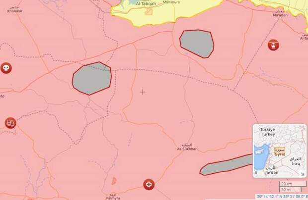 Российские ВКС уничтожают сирийских боевиков на стыке трех провинций