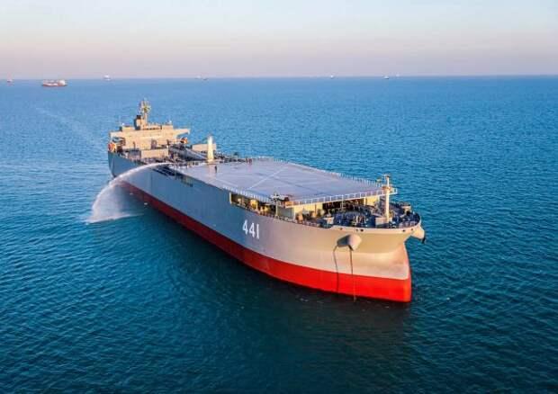 Эстония обвинила иранский фрегат вовторжении всвои территориальные воды