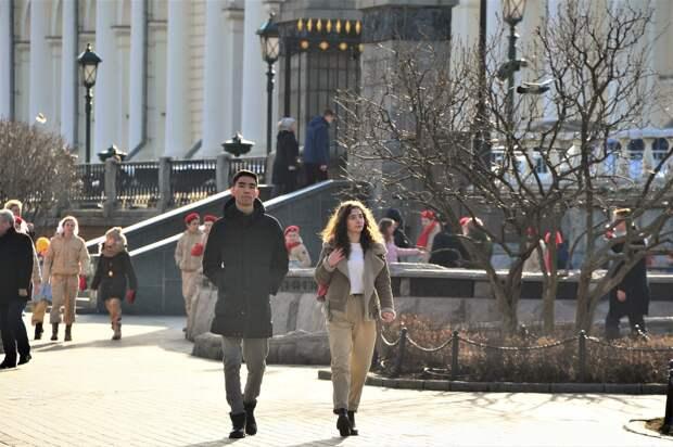 Синоптики пообещали москвичам солнечную погоду на следующей неделе