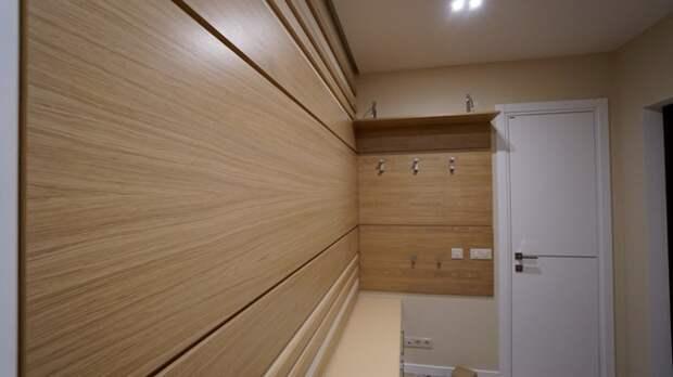 Стеновые панели для прихожей – стильный и практичный вариант отделки (66 фото)
