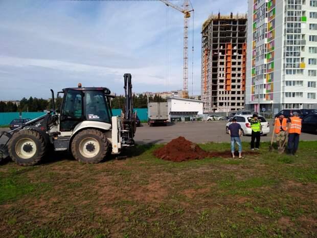Ремонтировать дорогу на улице Берша в Ижевске будут до середины октября