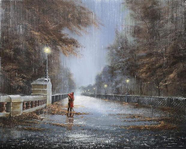 Это очень красиво! Дождь на двоих Джеффа Роуланда...