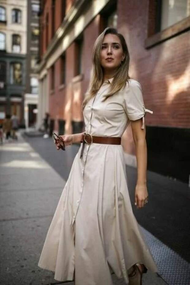 Модное и комфортное лето обеспечит вам платье-рубашка: 11 стильных моделей