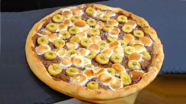 Сладкая пицца Пицца, Рецепт, Видео, Длиннопост
