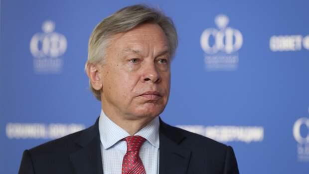 Пушков сообщил о нежелании Европы видеть Киев в ЕС и НАТО