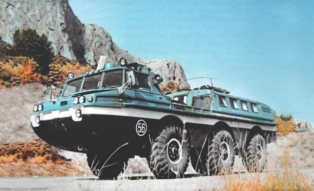 Колеса для космоса: советские поисково-эвакуационные машины