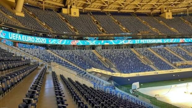 УЕФА подтвердил проведение семи матчей Евро-2020 на стадионе в Санкт-Петербурге
