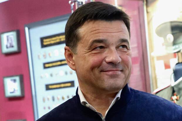 Губернатор Подмосковья сделал третью прививку от коронавируса