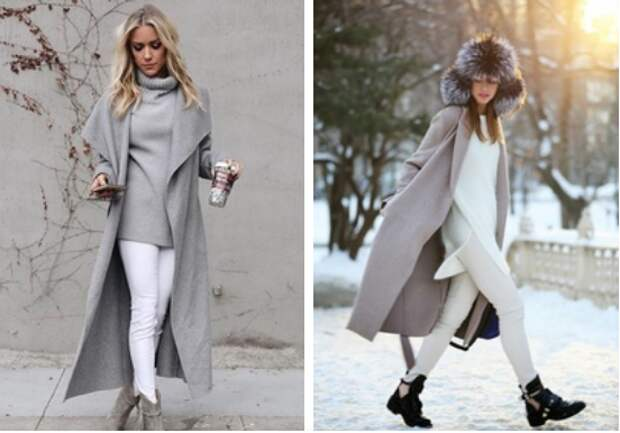 Пальто халат (выкройки)