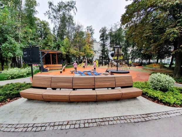 В Строгине благоустроят два парка и 60 дворов