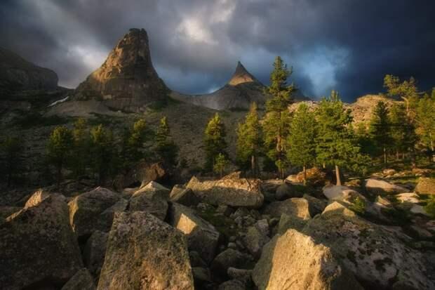 Природный парк Ергаки природа, путешествия, сибирь