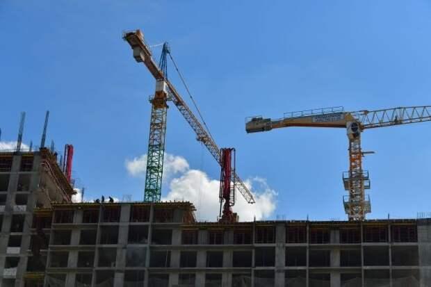 Пять корпусов жилого комплекса на Красноказарменной ввели в эксплуатацию