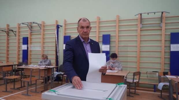 Максим Шугалей напомнил о правильном порядке заполнения бюллетеня