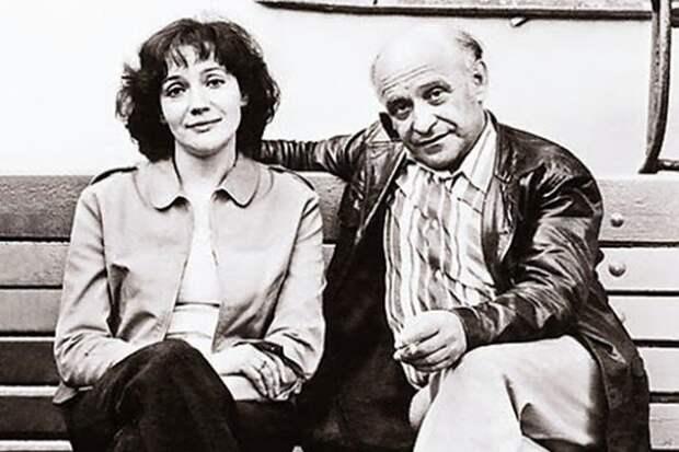 """Елена Санаева и Ролан Быков (фото: """"tarifi.info"""")"""