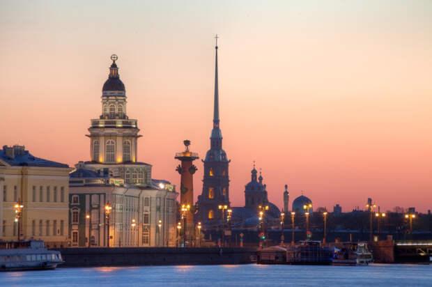 3. Санкт-Петербург  география, москва, ссср, факты