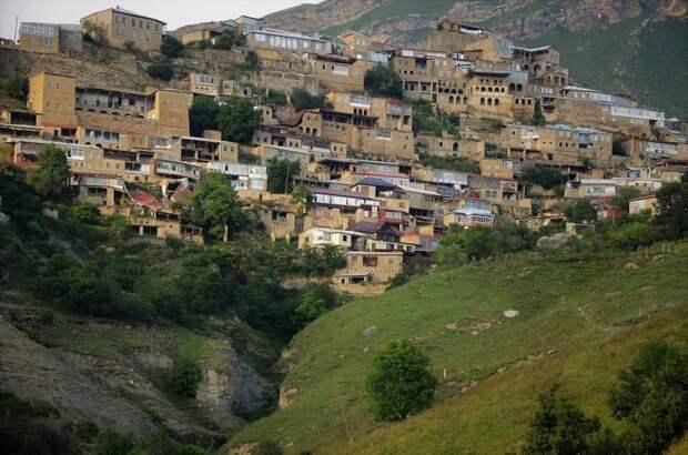 Горные крепости и укрепленные аулы Дагестана