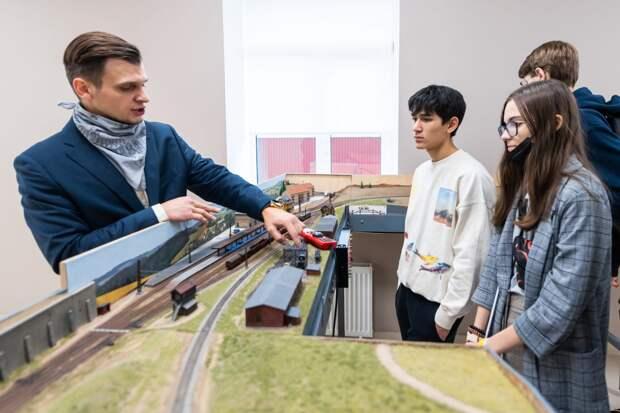 На Образцова открылся детский технопарк