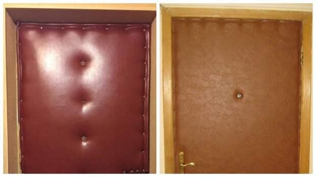 Зачем жители СССР делали обивку входных дверей из кожи или дерматина
