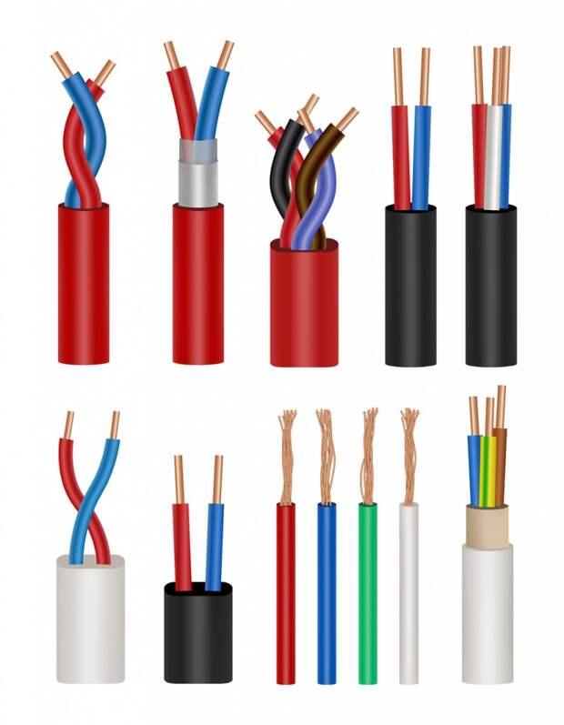 Медные кабели различной толщины рассчитаны на их несущую способность (Фоторедактор: Siberian Art/Shutterstock).