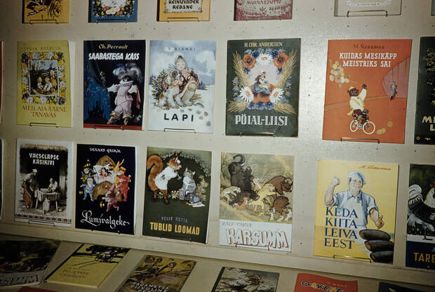 Russia, display of children books