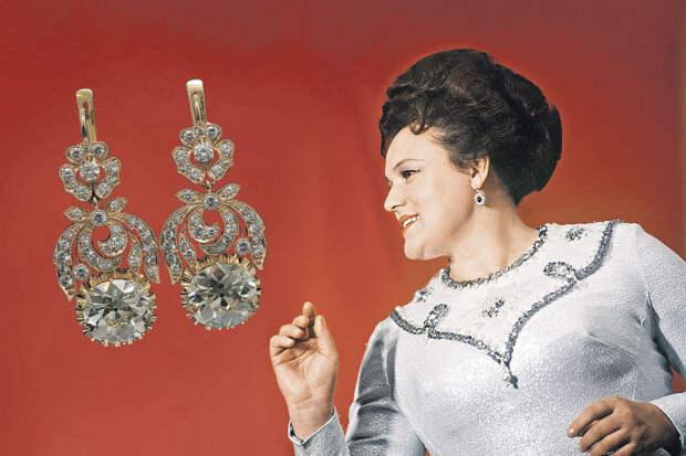 Кому достались бриллианты Людмилы Зыкиной?