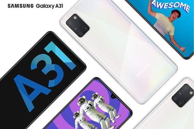 Samsung Galaxy A31 начал получать обновление One UI 3.1 на основе Android 11